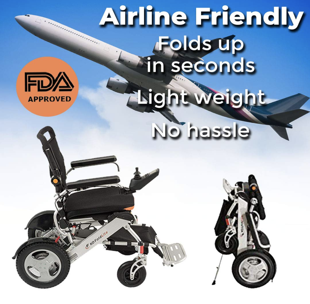Getting Right Power Wheelchair—F KD FoldLite Gives You Independent Life